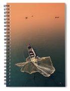 Taungthaman Lake Spiral Notebook