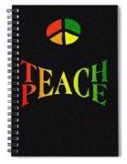 Teach Peace One Spiral Notebook
