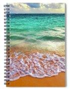 Teal Shore  Spiral Notebook