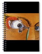 Tear Duct Spiral Notebook