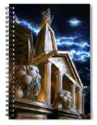 Temple Of Hercules In Kassel Spiral Notebook