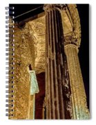 Temple Of Vesta Spiral Notebook
