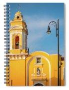 Templo Del Ex-hospital De San Roque Spiral Notebook
