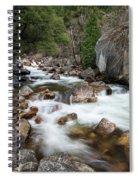 Tenaya Creek, Yosemite National Park Spiral Notebook