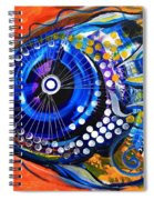 Tenured Acrimonious Fish Spiral Notebook