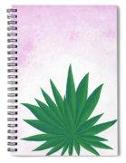Agave Print Spiral Notebook