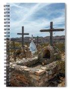 Terlingua Cemetery Spiral Notebook