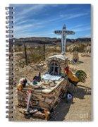 Terlingua Grave Spiral Notebook
