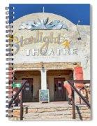 Terlingua Starlight Theatre2 Spiral Notebook