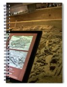 Terra Cotta Warriors In Pit 3 Ruins With Diagram Spiral Notebook