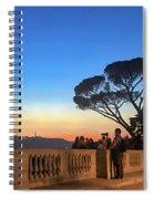 Terrazza Del Pincio Spiral Notebook