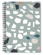 Terrazzo 1- Art By Linda Woods Spiral Notebook