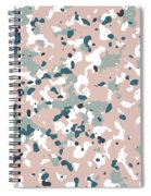 Terrazzo Splash 3- Art By Linda Woods Spiral Notebook
