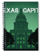 Texas Capitol Spiral Notebook
