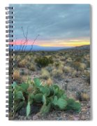 Texas Sunrise Spiral Notebook