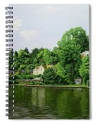 Thames At Reading Spiral Notebook