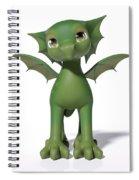 The Adorable Dragon  Spiral Notebook