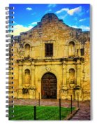 The Alamo Mission Spiral Notebook