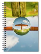 The Angel Of The North. Spiral Notebook