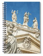 The Apostle Peter Vatican City Spiral Notebook