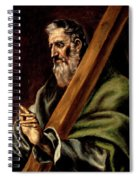 The Apostle St  Andrew  Spiral Notebook