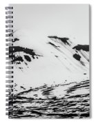 The Arctic Is Crying Spiral Notebook