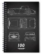 The Austin-healey 100 Spiral Notebook