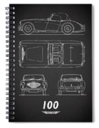 The Austin-healey 100 Spiral Notebook