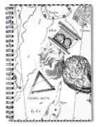 The Austral Constellations Of The Altar, The Southern Triangle And The Peacock Spiral Notebook