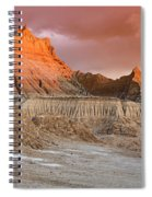 The Badlands With Another Sunrise Spiral Notebook