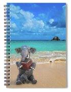 The Beach Story Spiral Notebook