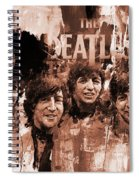 The Beatles Art  Spiral Notebook