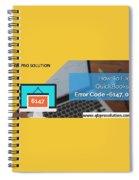 The Best Expert Resolve Quickbooks Error 6147,0 Spiral Notebook