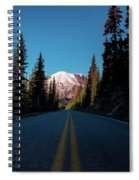 The Best Roads Lead To Rainier Spiral Notebook