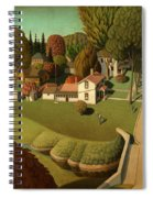 The Birthplace Of Herbert Hoover, 1931 Spiral Notebook
