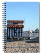 The Boat House Spiral Notebook