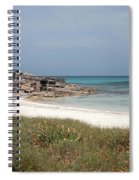 The Boathouse And The Beach Spiral Notebook