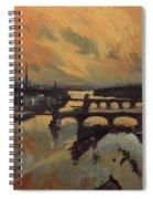 The Bridges Of Maastricht Spiral Notebook