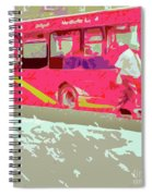 The Bus Spiral Notebook