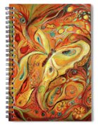 The Butterfly And Pomegranates Spiral Notebook
