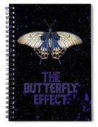 The Butterfly Effect II Spiral Notebook