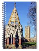 The Buxton Memorial Fountain London Spiral Notebook