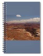 The Canyon Floor Below - 1 Spiral Notebook