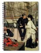 The Captain And The Mate, 1873 Spiral Notebook