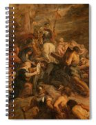 The Carrying Of The Cross, 1634 - 1637 Spiral Notebook