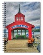 The Charm Of Seneca Lake - Finger Lakes, New York Spiral Notebook