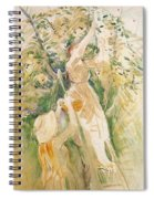 The Cherry Tree Study - 1891 - Musee Marmottan France Spiral Notebook