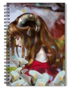 The Choice Of Amalthea Spiral Notebook