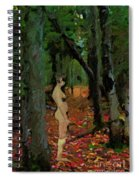 The Company Of Trees Spiral Notebook