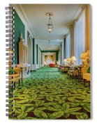 The Corridor Spiral Notebook